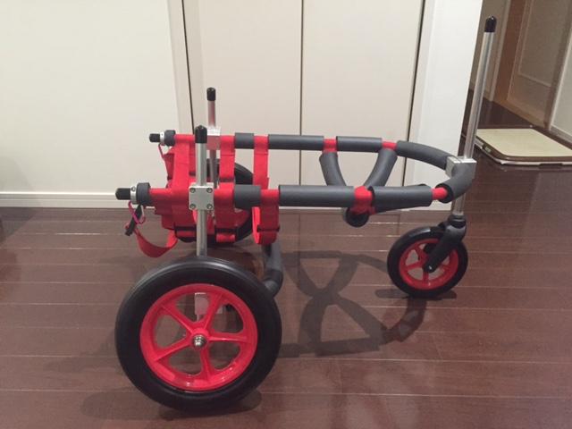 山羊さんの しずねちゃんの車椅子&柴犬 ミーコちゃんの犬用車椅子♪