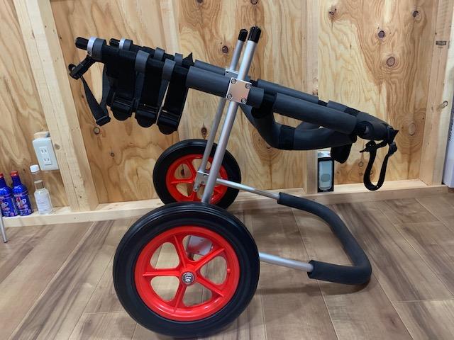 徳島県のボクサー リオンちゃんの犬の車椅子