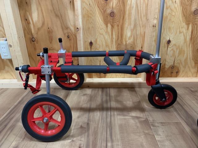 宮城県のコーギー ムギちゃんの犬の車椅子