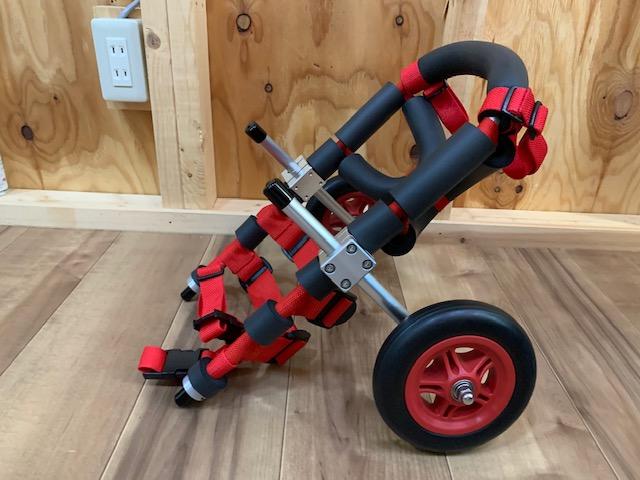 宮城県のミニチュアダックスフンド ナナちゃんの犬の車椅子