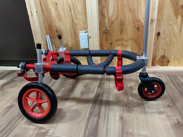 東京都のコーギー トッピーちゃんの犬の車椅子