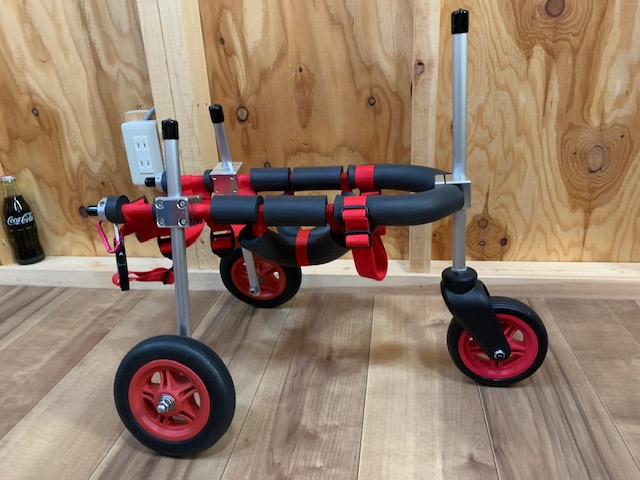 東京都のトイプードル ケンジ君の犬の車椅子