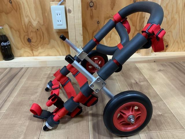 埼玉県のミニチュアダックスフンド クリンちゃんの犬の車椅子