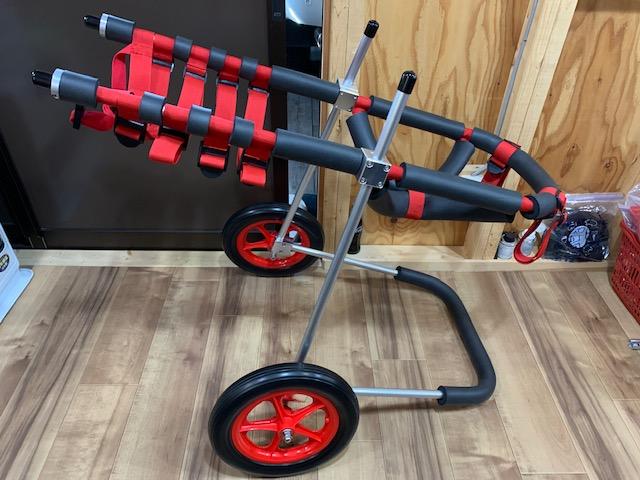 青森県のグレートデーン ベラちゃんの犬の車椅子