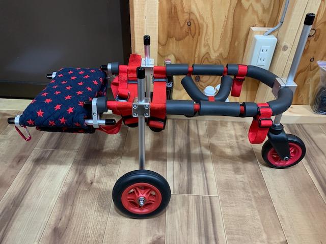 大阪府のトイプードル はなちゃんの犬の車椅子