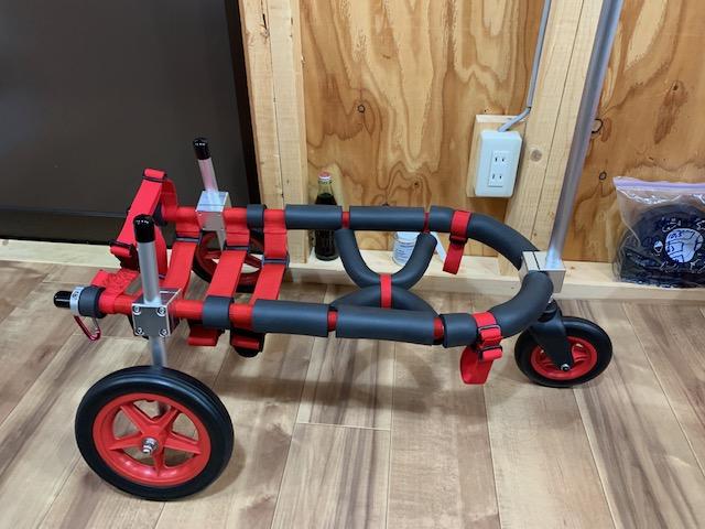 愛知県のコーギー りゅうちゃんの犬の車椅子