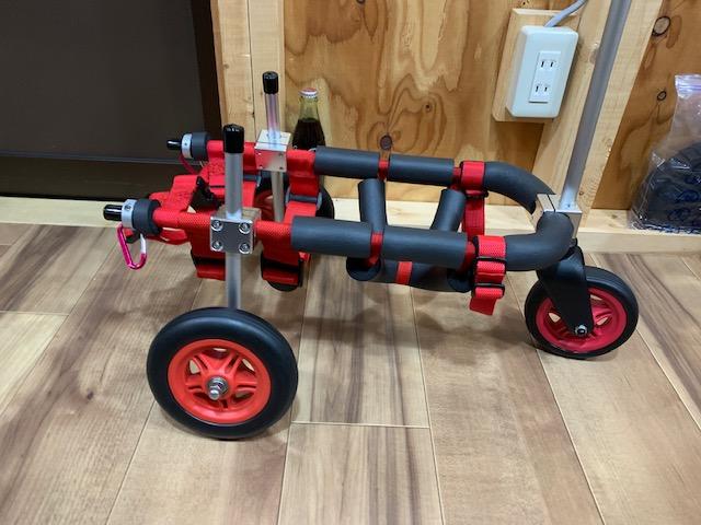 岐阜県のミニチュアダックスフンド ラブちゃんの犬の車椅子
