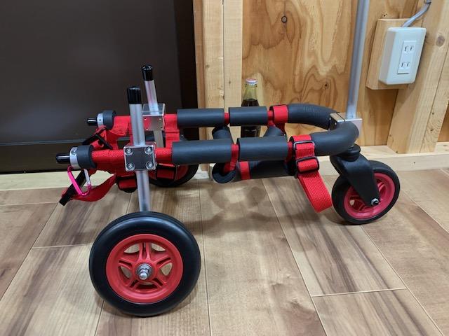 東京都のミニチュアダックスフンド あるちゃんの犬の車椅子