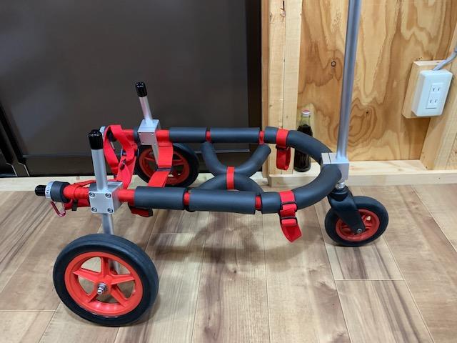 愛知県のコーギー 空(クウ)ちゃんの犬の車椅子
